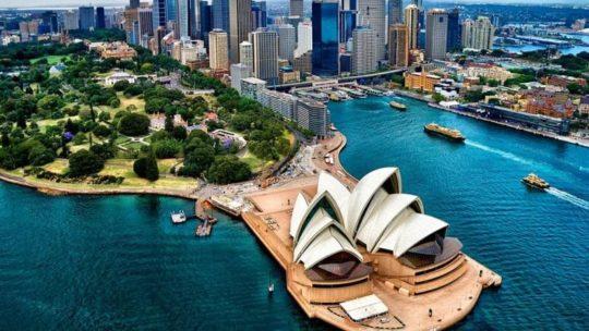 Австралия. Международные аэропорты