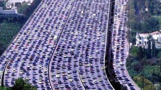 Определены города с худшим трафиком