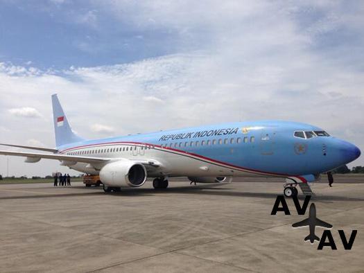 Президент Индонезии пересаживается на BBJ2